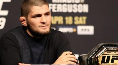 Нурмагомедов ответил на предложение Фергюсона лишить его титула чемпиона UFC