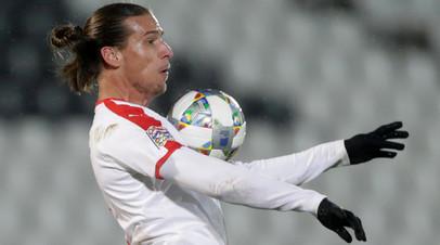 Сербского футболиста приговорили к трём месяцам ареста за нарушение карантина
