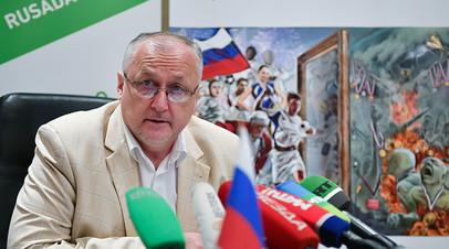 Генеральный директор Национальной антидопинговой организации РУСАДА Юрий Ганус