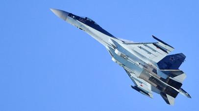 Российский многоцелевой истребитель Су-35
