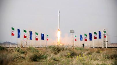 Иранский военный спутник «Нур-1»