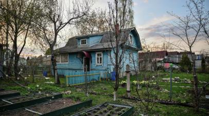 Жителям Петербурга разрешили поехать на дачу на майские праздники