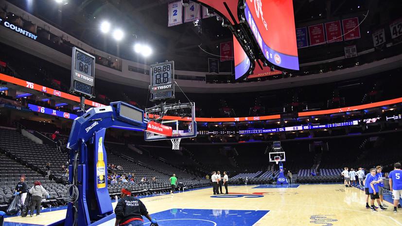 НБА рекомендовала клубам не тестировать на коронавирус игроков без симптомов