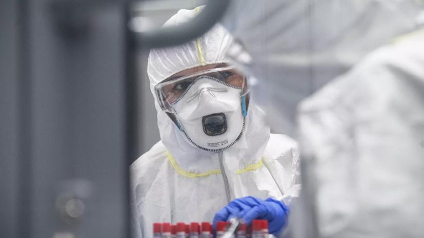 В России за сутки выявили 7933 случая заражения коронавирусом
