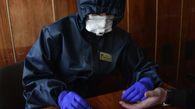 На Украине коронавирус подтвердили у более 2 тысяч медиков