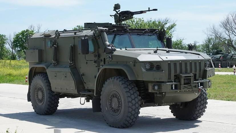 Десантный броневик: в России завершается разработка спецмашины для ВДВ «Тайфун»