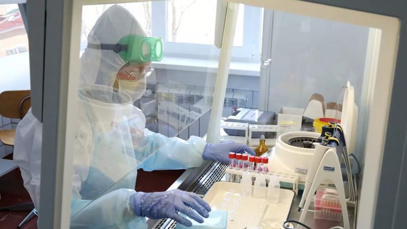 В России за сутки выявили 10 633 случая заражения коронавирусом