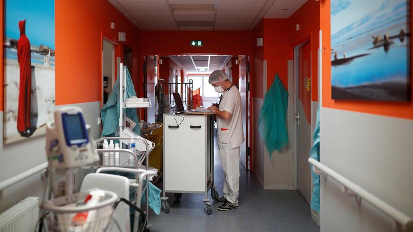 Во Франции за сутки скончались 135 человек с коронавирусом