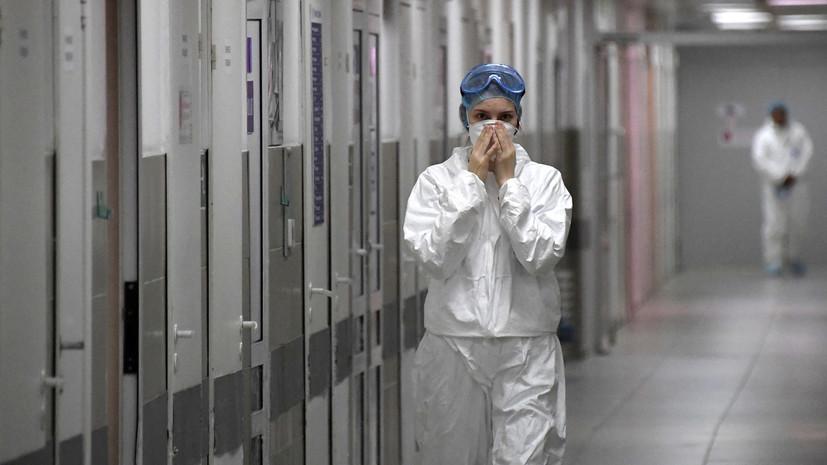 Число случаев заболевания коронавирусом в больнице Якутска достигло 56