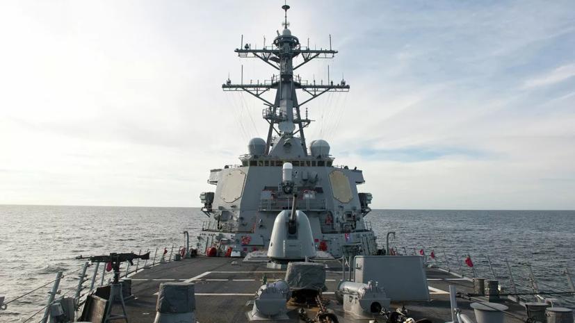 Северный флот взял на сопровождение корабли НАТО в Баренцевом море