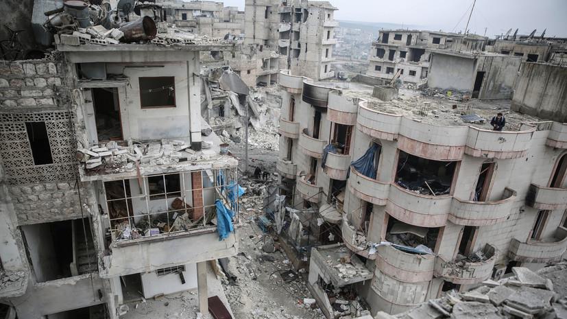 Террористы обстреляли населённый пункт в сирийском Идлибе