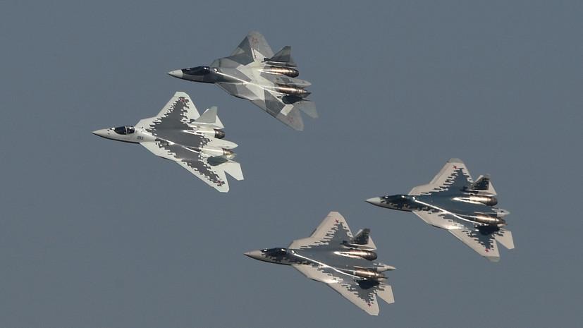 «Никаких ограничений по боевому применению»: в чём преимущества российского Су-57 перед американским F-35
