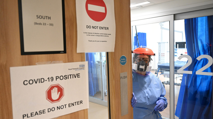 В Британии сообщили о диалоге с Россией на тему пандемии