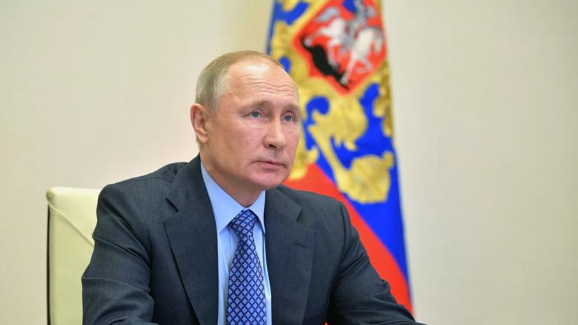 Путин прокомментировал состояние здоровья Мишустина