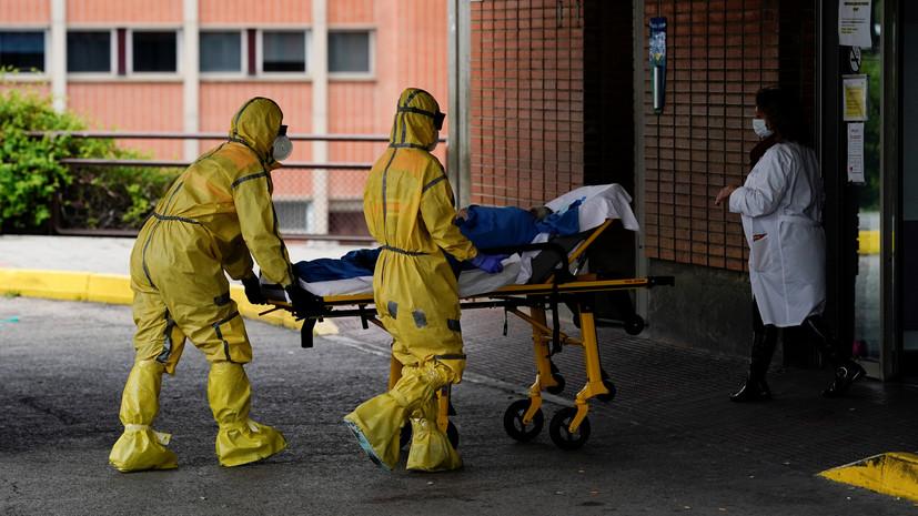В Испании за сутки умерли 213 человек с коронавирусом