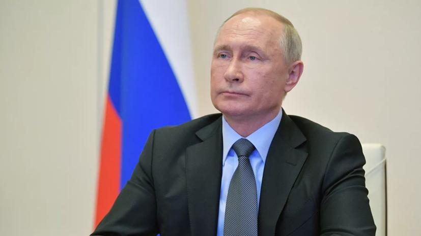 Путин поручил переориентировать транспорт на внутренний рынок