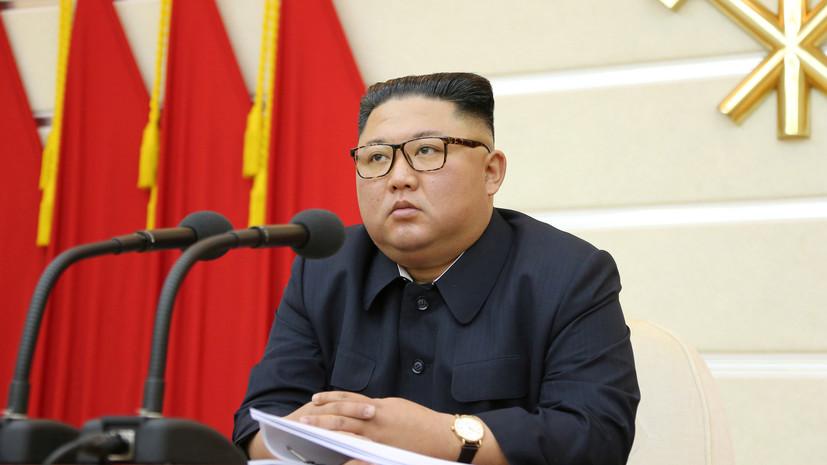 Ким Чен Ын направил послание Си Цзиньпину