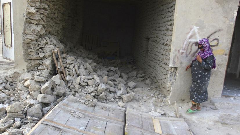 Один человек погиб и 11 пострадали в результате землетрясения в Иране