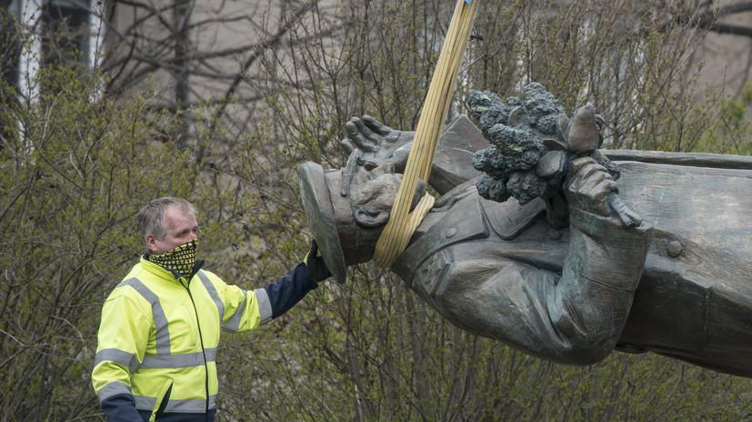 Мемориальные комплексы: как в НАТО защищают инициаторов сноса памятника маршалу Коневу в Чехии
