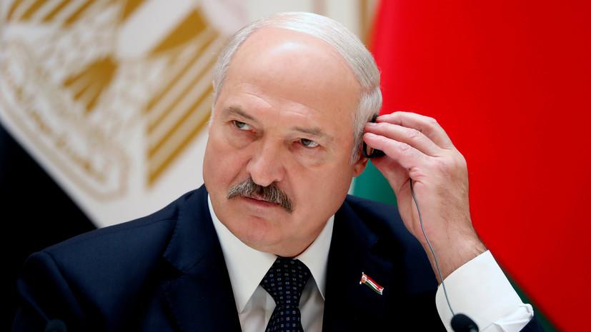 Лукашенко заявил, что переболевших COVID-19 не будут «тащить» на парад