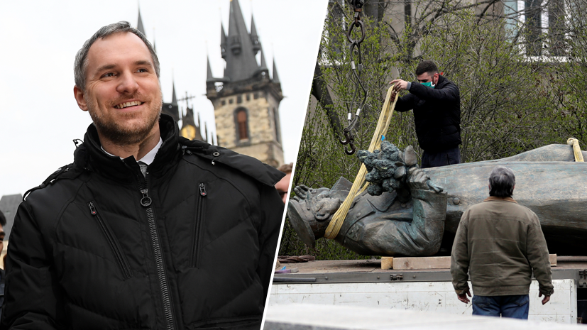«Прага освободила себя сама»: мэр столицы Чехии дал «урок истории» русским пранкерам