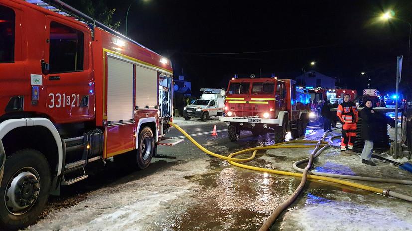 В Польше произошёл пожар в центре ядерных исследований