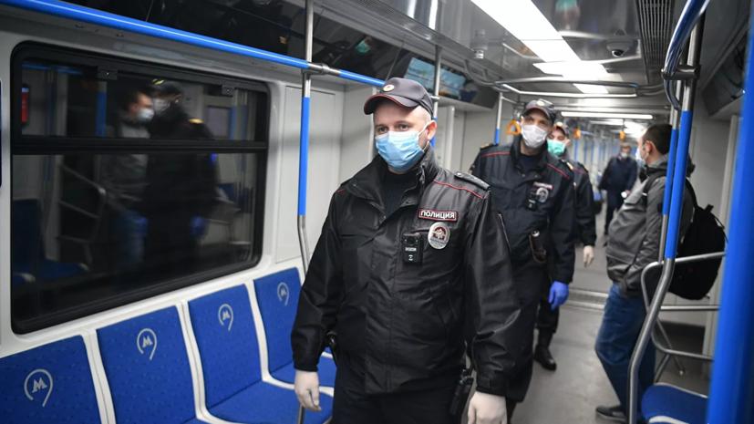Дептранс Москвы: более 80% пассажиров не носят перчатки в транспорте