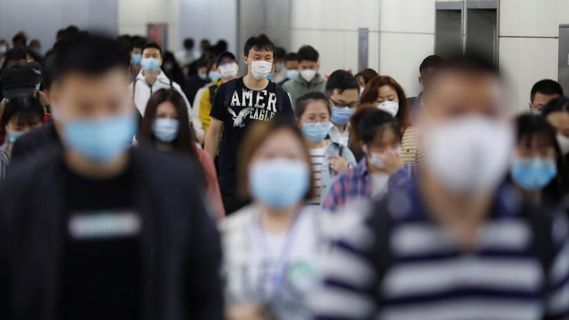 За сутки в КНР выявлен один новый случай заболевания COVID-19