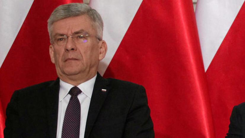 Вице-спикер сената Польши ушёл в отставку, чтобы работать врачом