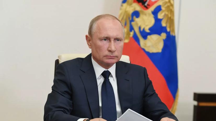 Путин: работа по выплатам медикам «закипела» только после критики