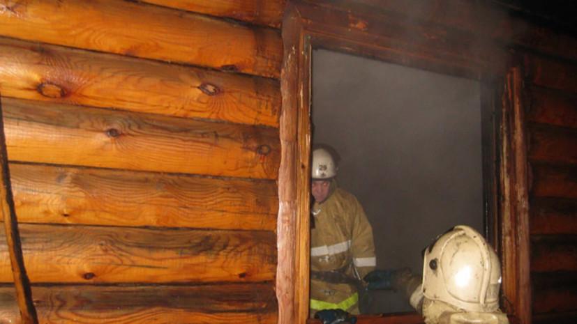Возгорание в жилом доме в ХМАО ликвидировано