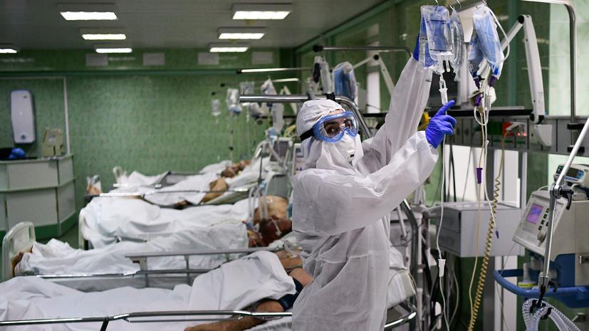 В России выявили 9974 случая заражения коронавирусом