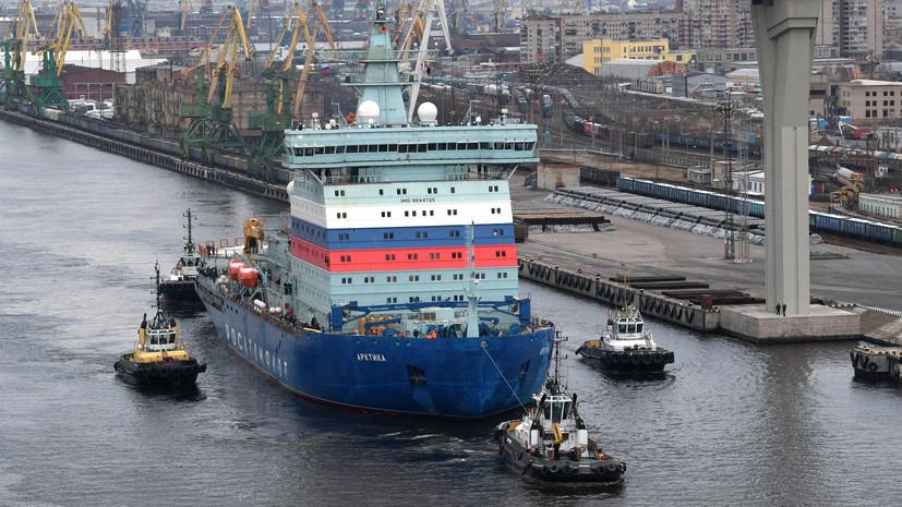 «Международный полярный маршрут»: как новые российские ледоколы помогут в освоении Северного морского пути