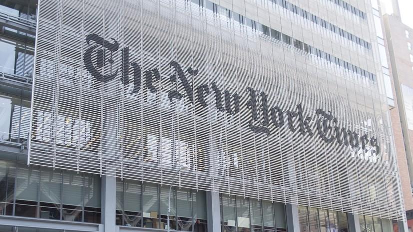 Посол России потребовал от NYT опровергнуть публикацию о коронавирусе