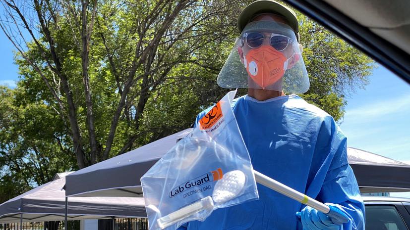 В США число выявленных случаев коронавируса превысило 1,4 млн