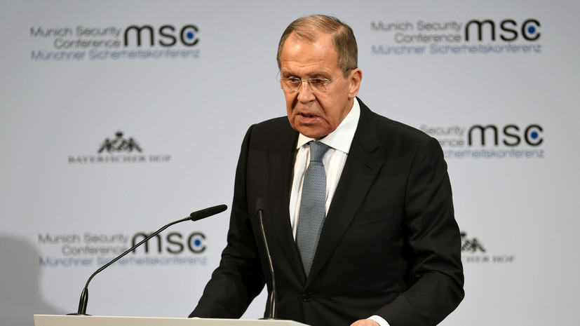 Лавров выступил против введения санкций из-за коронавируса