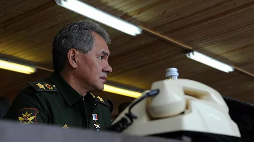 Шойгу рассказал о приросте числа вылечившихся от коронавируса в армии