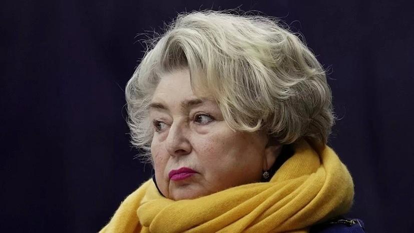 Тарасова о критике Родниной: пусть она с этим живёт