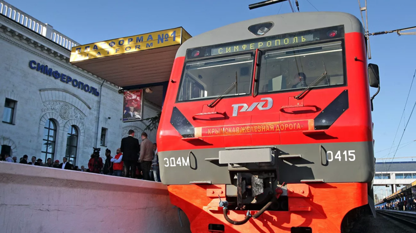 В Крыму с 18 мая возобновят пригородное железнодорожное сообщение