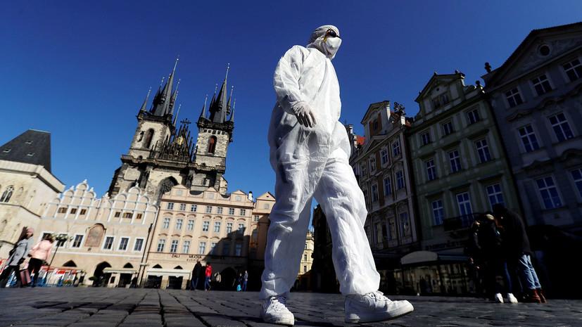 Число заболевших коронавирусом в Чехии возросло до 8475