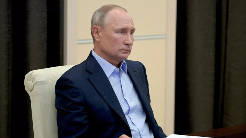 Путин провёл переговоры с президентом Азербайджана
