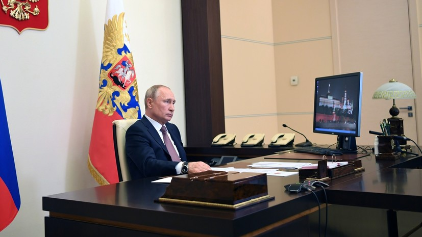 «Поручения должны быть выполнены»: Путин проведёт совещание по вопросу о выплатах медикам