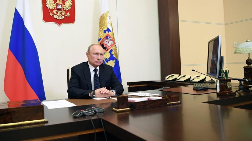 «Деньги получили далеко не все»: Путин раскритиковал ситуацию с выплатами медикам