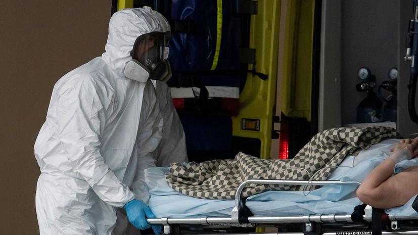 В Москве за сутки умерли 75 пациентов с коронавирусом