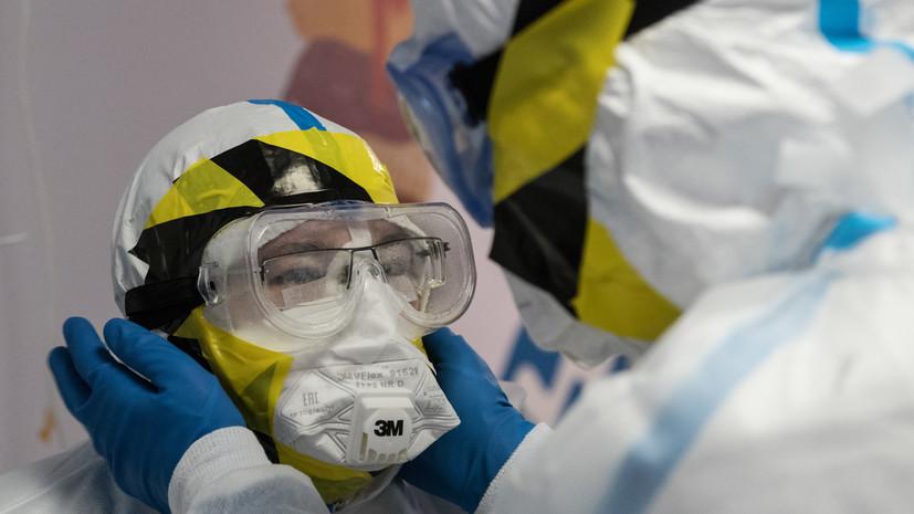 Медсестра в Тульской области получила взыскание за прозрачный костюм