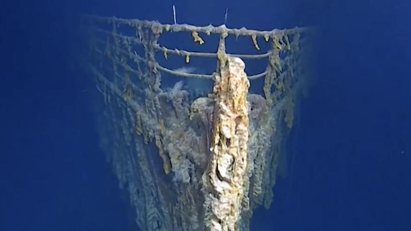 Суд вСША позволил  поднять с«Титаника» телеграфный передатчик