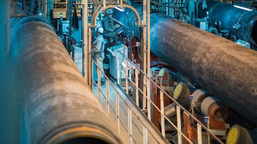 Регулятор ФРГ освободил «Северный поток» от норм Газовой директивы ЕС - RT на русском
