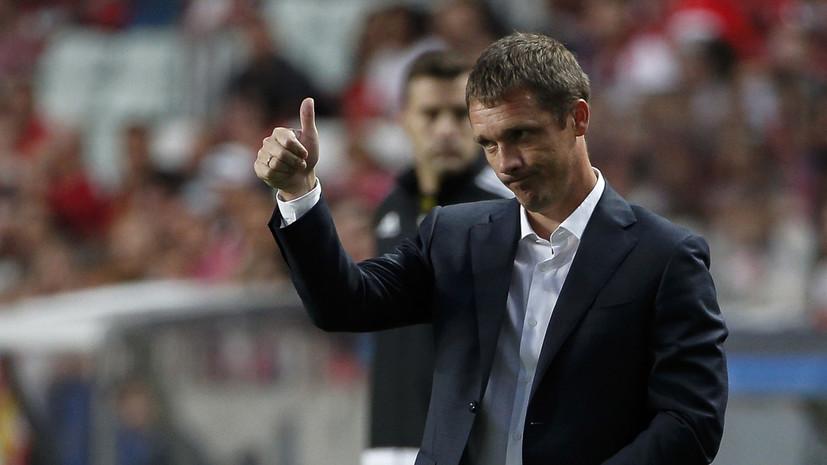 Гончаренко заявил, что продление контракта с ЦСКА было чисто техническим моментом