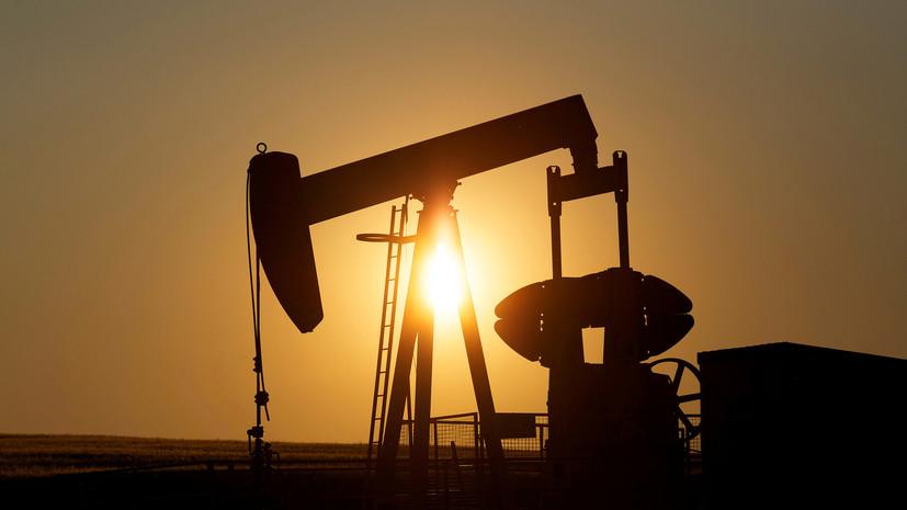 Цена на нефть марки Brent снизилась почти на 5%