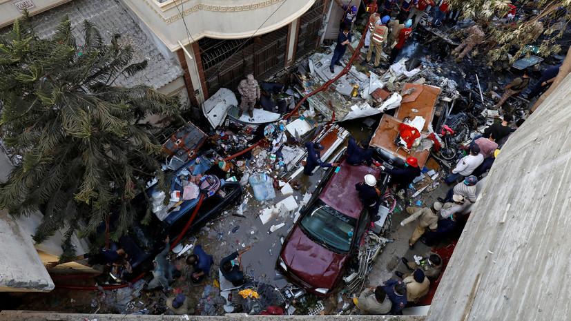 Россиян нет среди жертв авиакатастрофы в Пакистане